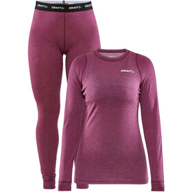 Craft Core Wool Merino Baselayer Set Dames, fame melange